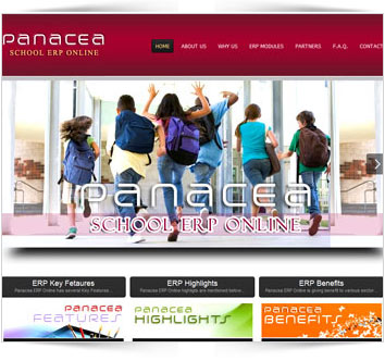 Panacea Online School Management ERP